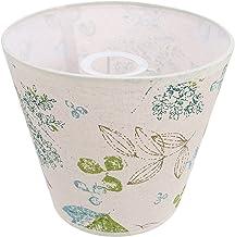 Lurrose Pássaro Lâmpada Sombra Flor Impresso Tampa Da Lâmpada Pano Abajur para O Chão Mesa de Luz Do Candelabro de Substit...