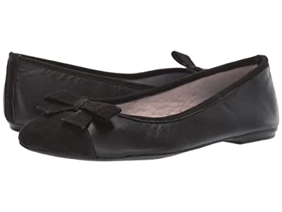 French Sole Nicky Hilton Whitney (Black Leather/Suede) Women