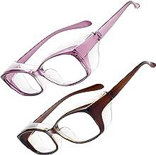 Óculos de segurança para homens e mulheres, lentes antiembaçantes, bloqueio de luz azul, proteção contra pólen para os olh...