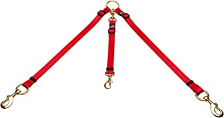 Cetacea Pet Truck Bed Tether, One Size, Red