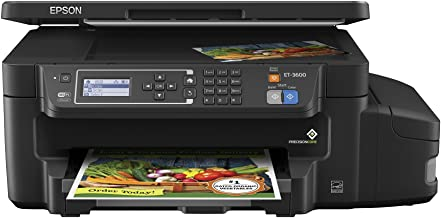 Epson ET-3600 EcoTank Wireless Color All-in-One Supertank Printer with Scanner, Copier & Ethernet