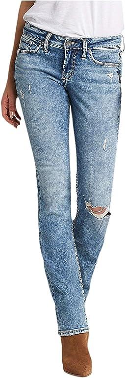 Suki Mid-Rise Curvy Fit Slim Bootcut Jeans L93616SSX289