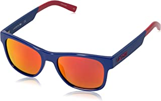 Lacoste Unisex L829S Rectangular Sunglasses, Blue, 54 mm