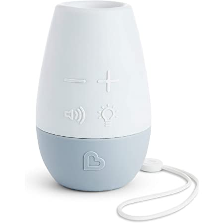 Munchkin Shhh Portable Baby Sleep Soother Sound Machine and Night Light