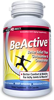 BeActive Green-Lipped Mussel Joint Care Supplement (500mg, 120 Gelatin Capsules) from Health Direct