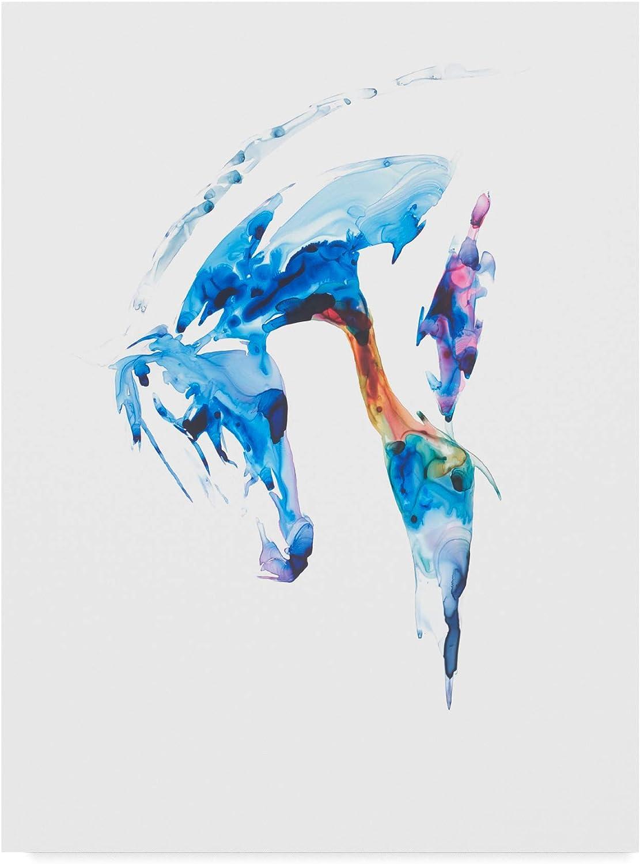 Trademark Fine Art bluee Agate II by Julie T. Chapman, 14x19