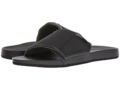 Reef Cushion Bounce Slide (Black) Men