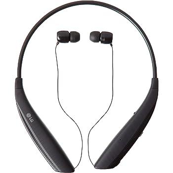 Amazon Com Lg Tone Ultra A Bluetooth Wireless Stereo Neckband Earbuds Hbs 830 Black