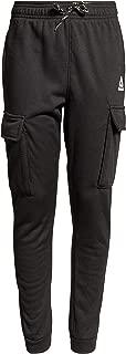 Reebok Boys Active Basic Fleece Jogger Cargo Sweatpants