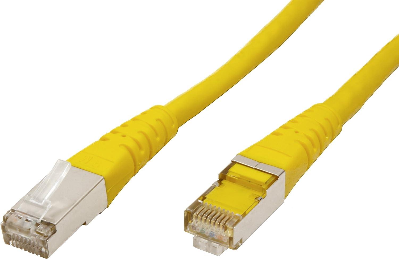 Roline 21151400 15 m S//FTP Cat 6 Ethernet Network LAN Cable with RJ45 Connector Violet