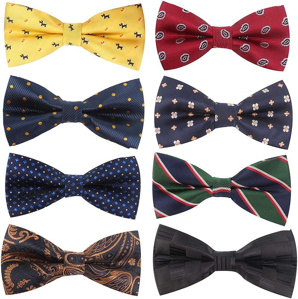 Gemay G.m Men's Bow ties Adjustable Pre-tied Bow-ties For Men Boys Wedding Gifts