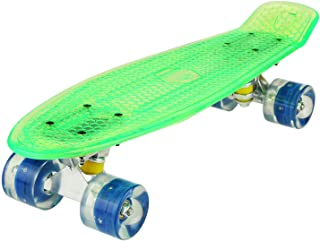 "WeSkate Cruiser Skateboard Tavola Completa Mini Skateboard 22""55CM Penny Board con PU LED Ruote, Cuscinetto ABEC-7 Regalo ..."
