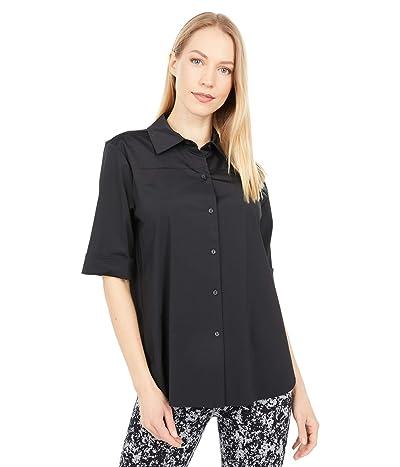 Lysse Josie Short Sleeve Microfiber Button-Down Shirt