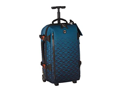 Victorinox VX Touring Wheeled Global Carry-On (Dark Teal) Carry on Luggage