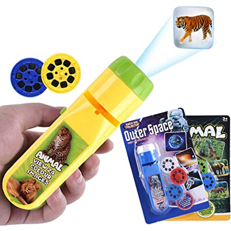 Kids Projector Toys Torch Projection Light Educational Learning Toys Animal UK
