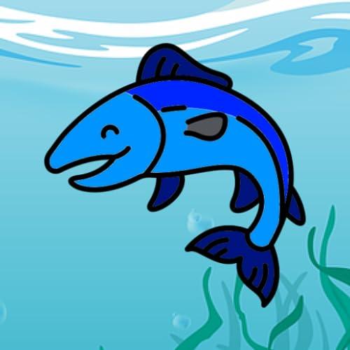 Fische in einem Teich