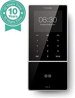 TimeMoto TM-838 - Terminal para fichar con reconocimiento facial, tarjeta o llave RFID y PIN. Hasta 2.000 usuarios. Incluye software TimeMoto PC - Garantiza el cumplimiento del nuevo art.34 del E.T.