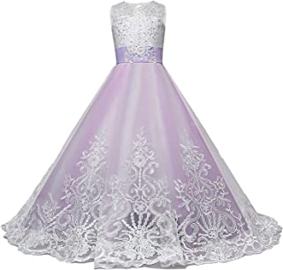 Surprise S Elegant Long Prom Gown Princess Girls Teenager Big Bow Purple Gorgeous Dress Party Wedding Clothing