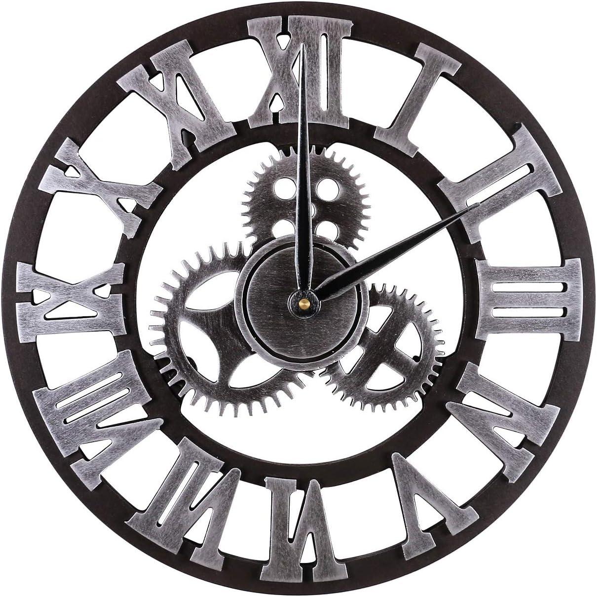 Mengshen Large Decorative Under blast sales Wall Clock Clo Retro Vintage European Same day shipping