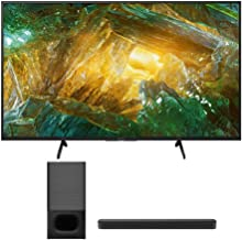 $896 » Sony XBR-43X800H 43-Inch LED 4K Ultra HD HDR Android Smart TV HTS350 2.1-Channel Soundbar with Powerful Wireless Bluetooth Subwoofer Bundle (2 Items)