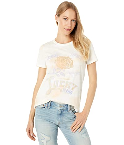 Lucky Brand Lucky Flower Classic Graphic Crew