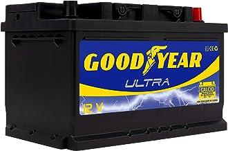 Goodyear GODF375 Bateria de coche Ultra 12V 75Ah 680A +D, 70Ah 550A