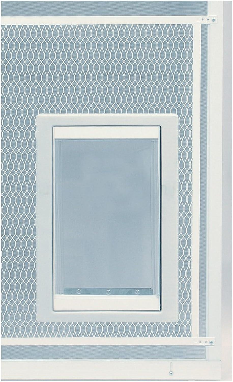 Ideal Pet Doors Screen Guard Pet Door, Medium, 7  x 11.25  Flap Size