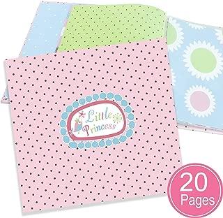 Baby girl scrapbook Album all-in-one kit