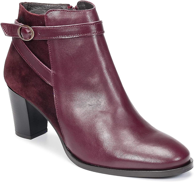 Betty london HIDAYA Stiefelletten Stiefel Damen Bordeaux - 41 - Low Stiefel