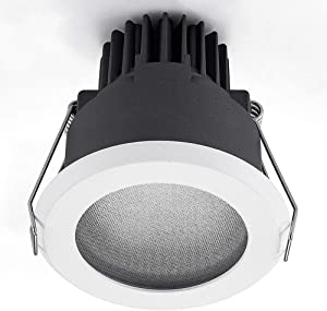 Yaione 3 Inch LED Slim Panel Recessed Light 120lm Energy Star and ETL Wafer Downlight IC Rated Airtight 3000K Suitable for Bathroom Aisle Corridor Floodlight Borehole Size: 75-80mm