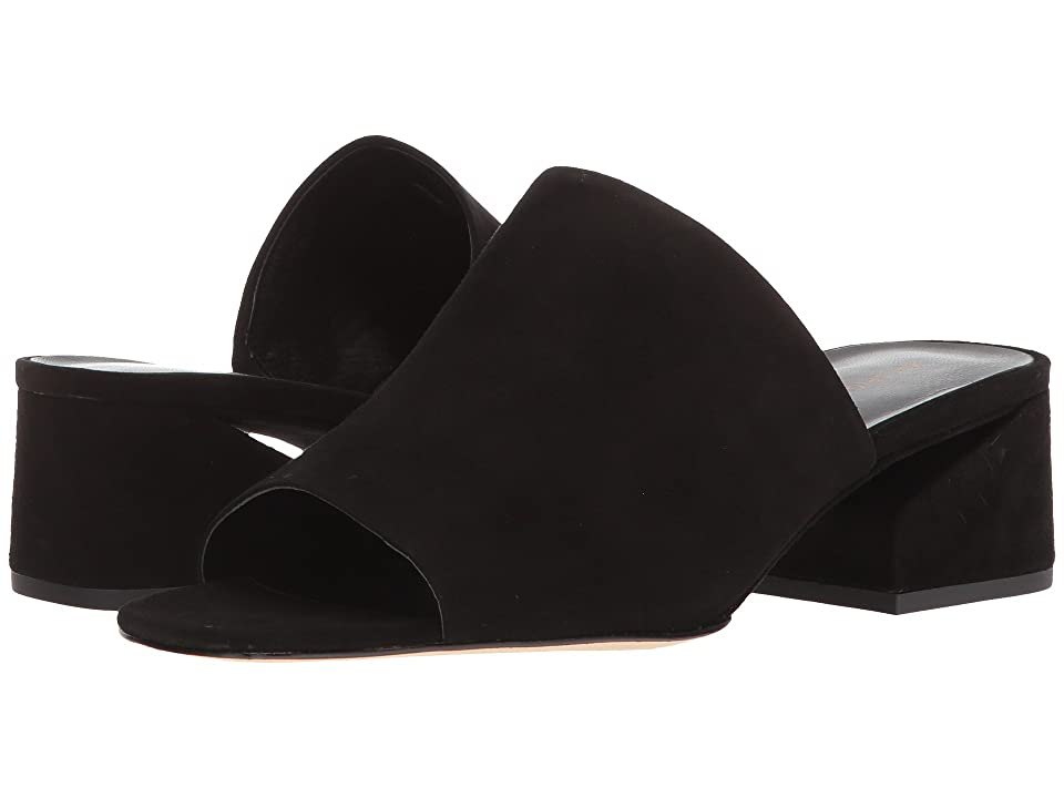 Via Spiga Porter (Black Suede) Women