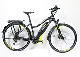 E-bike Haibike Sduro Trekking SL 400WH/EEC-36V/250W 10g 28'Mujer en negro/lime/gris mate