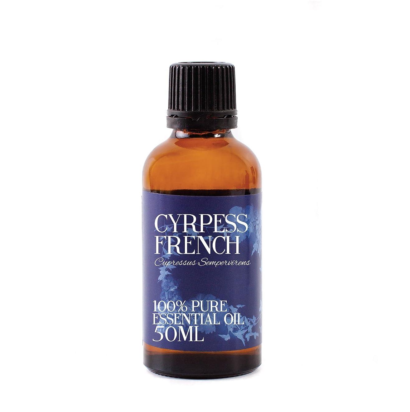 スクラッチ事前に寸前Mystic Moments | Cypress French Essential Oil - 50ml - 100% Pure