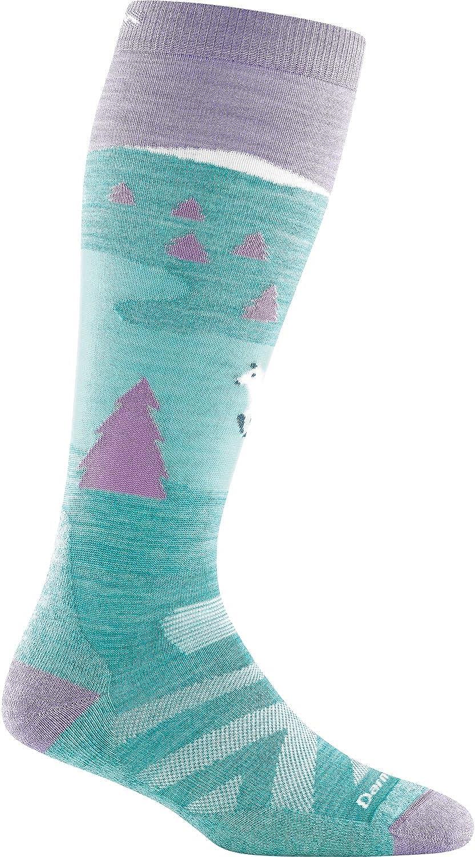 Darn Tough Snow Fox OTC Midweight Sock with Cushion - Kid's