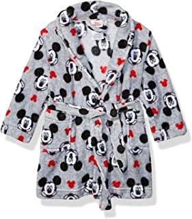Disney Boys' Toddler Mickey Mouse Luxe Plush Robe