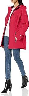 womens Iconic Sporty Hooded Soft Shell Rain Jacket