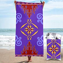 LUORA Microfiber Travel Towel Sets, Quick Dry Sports Gym Beach Towels - Super Absorbent,Sweat Towels,Perfect for Camping,Gym,Beach,Swimming,Backpacking - Magic Carpet