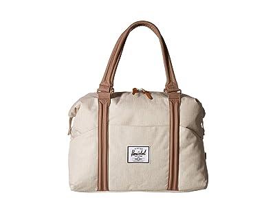 Herschel Supply Co. Strand (Overcast Crosshatch/Pine Bark) Duffel Bags