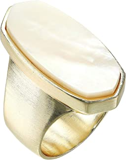 Gold/Ivory Mother-of-Pearl