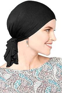 Cardani Bamboo Slip-On Pre-Tied Scarf-Cancer Headwear for Women