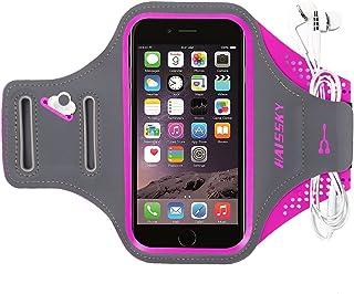 comprar comparacion Haissky Brazalete Deportivo para Correr Brazalete Deportivo Armband con Llavero y Correa Ajustable para iPhone 11 Pro Max/...