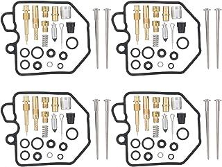 MOTOKU Pack of 4 Carburetor Carb Rebuild Repair Kit for Honda CB900C Custom CB900F Super Sport CB1000C