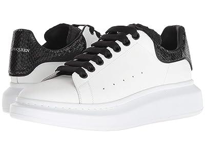 Alexander McQueen Oversized Sneaker (White/Black) Men