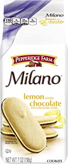 Pepperidge Farm Milano Cookies Lemon Chocolate (4 Pack)