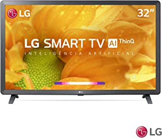 """Smart TV LG LCD 32"""" com Comandos de Voz, WebOS 4.5, Upscaler HD, HDR Ativo e Wi-Fi Preta - 32LM625BPSB"""