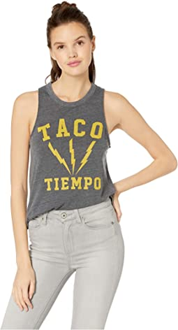 Taco Time Tri-Blend Muscle Tank