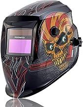 FOOWOO Solar Powered Welding Helmet Auto Darkening Hood with Adjustable Shade Range..