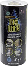 The Original Fix Tape (As Seen On TV), Rubberized Waterproof Adhesive Seal Tape, Patch and Repair Cracks, Pipes, Roof, Boat Leaks (Clear, 8 inches x 5 feet)