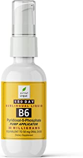 P-5-P Vitamin B6 as Pyridoxal-5-Phosphate 30 mg (Equivalent to 50 mg Oral Dose) 150 Day Sublingual Liquid Supplement by NU...