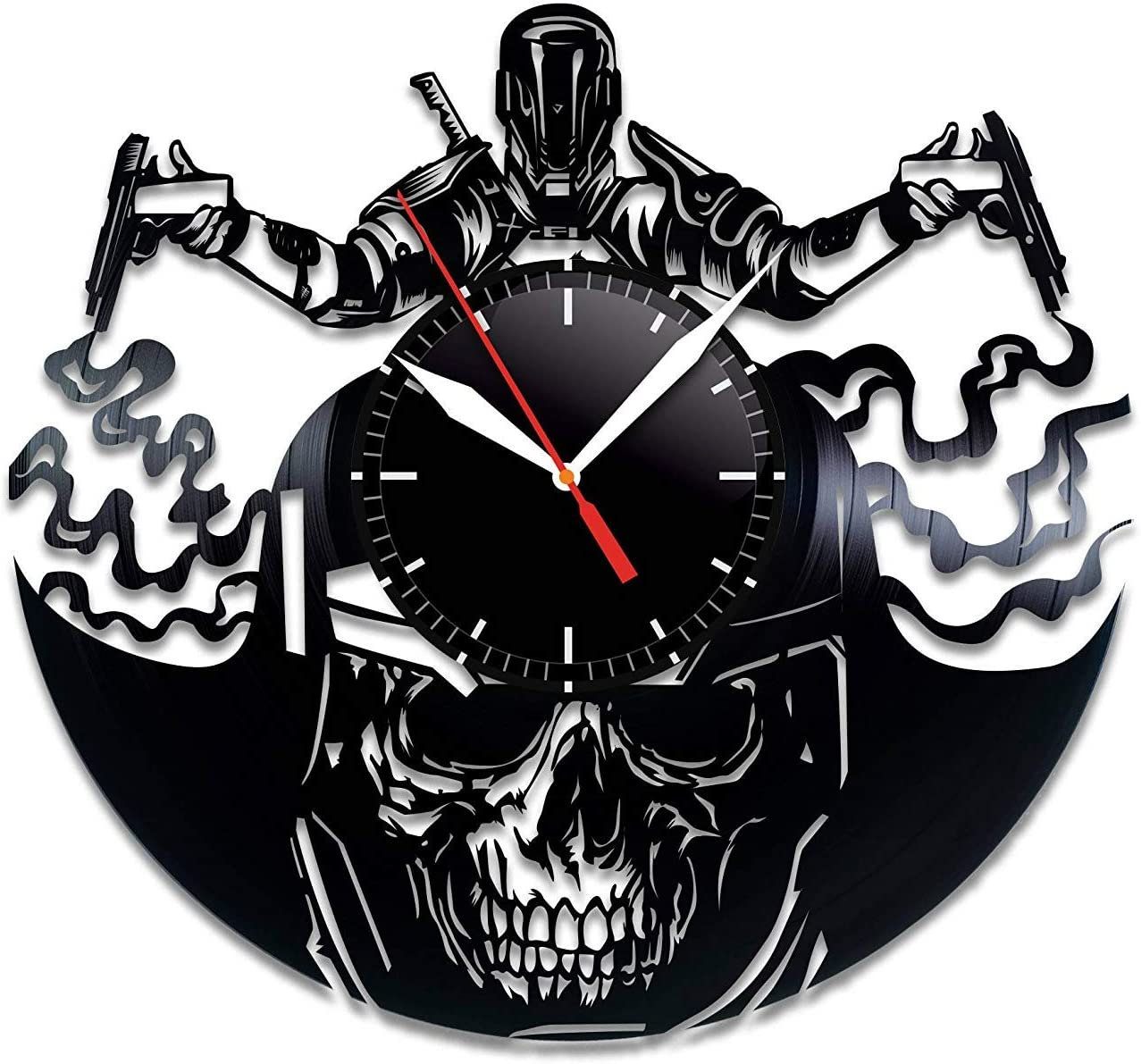 Call of オンラインショッピング Duty Infinite Warfare Vinyl Home 正規逆輸入品 Record ncie Wall Clock